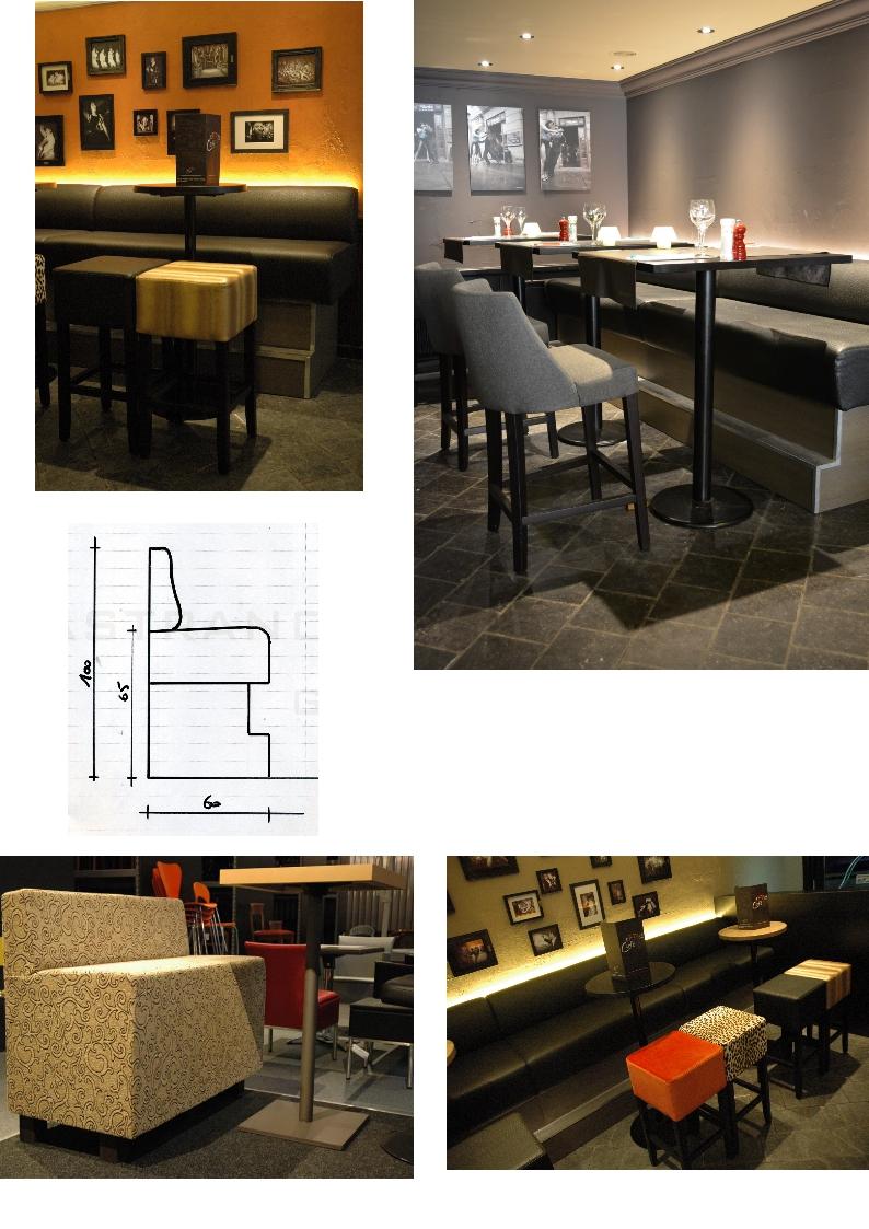 Banquettes Recouvrement et rembourrage Banquettes et meubles