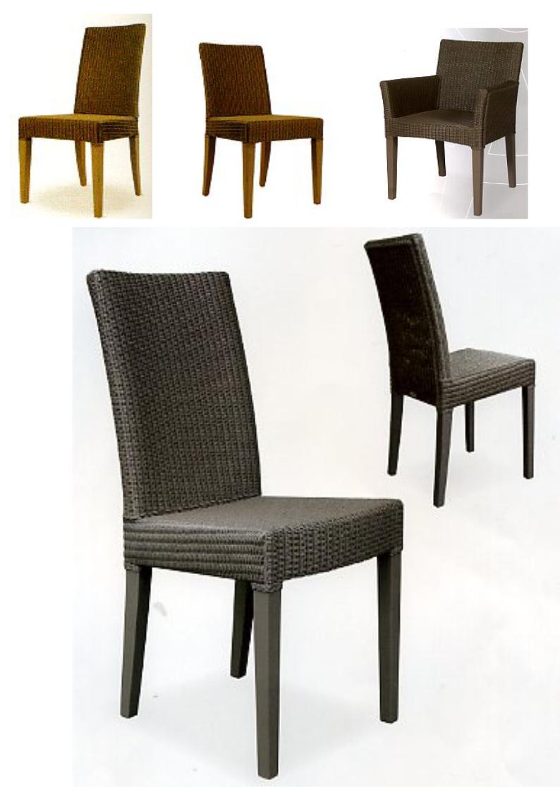 Rotan en loom stoelen horecameubilair astranova for Loom stoelen